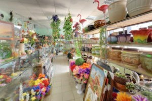 Цветочная соната, Цветочный магазин